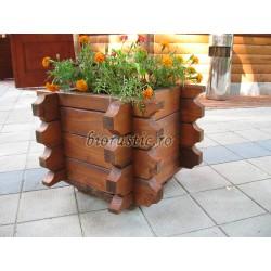 Ghiveci de lemn